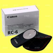 Genuine Canon RC-6 Remote Control for EOS M6 6D 7D Mk II 800D 760D 80D 77D 5DS R