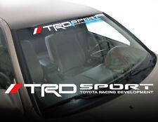 TRD Toyota Tacoma Tundra Sport Car Truck Windshield Decal Sticker Vinyl fiH