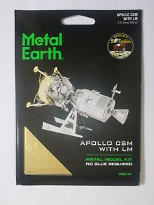 Metal Earth Apollo CSM with LM model kit