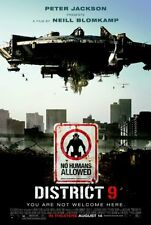 District 9 Movie Poster 24x36