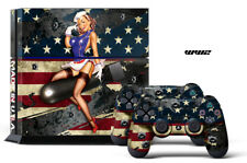 247 Piel Sony PS4 Segunda Guerra Mundial Bomber Playstation Wrap Decal Sticker Wrap
