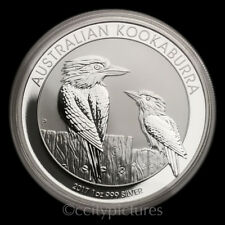 2017 1 oz .999 Silver Australian Kookaburra GEM BU Coin Perth Mint Roll 7