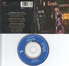 Cyndi Lauper  CD-SINGLE  I DROVE ALL NIGHT  ( 3inch )