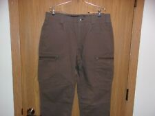"Duluth Trading Men's""Alaskan Hardgear Roustabout Cargo Pants"" 48X30 Summit Brown"