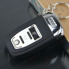 COOL Audi Car Key StyleWindproof Lighter Jet Torch Gas Butane Lighter Flashlight