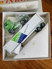 Winross Gracie Fibers White Tractor Trailer 1:64 Scale Die Cast 72