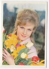 1960s German Film Star Card #135 German Eurovision Singer Heidi Bruhl