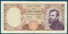 ITALIE - 10000 LIRE Pick n° 97c. du 4-1-1968. en TTB   U 0326 017085