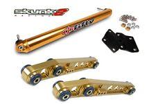 SKUNK2 Lower Control Arm+Bar Phi Fifty Gold 88-95 Honda Civic/93-97 Del Sol