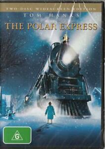 THE POLAR EXPRESS - TOM HANKS - NEW & SEALED REGION 4 DVD