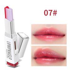 Pro Two Tone Tint Lip Bar Lipstick Moisturizing Gradient Color V-shape Lipstick- 7#