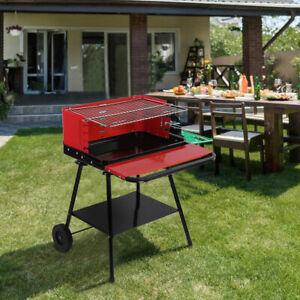 Stainless Steel Charcoal Grill Mangal BBQ Portable Shish Kebab Kabab Shashlyk US