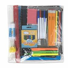 45 Piece School Supply Kit Grades K-12 - School Essentials Includes Folders Note
