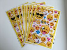 Emoji Kids Happy Birthday Party Bags Loot Bag gift Decoration