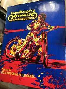 1975 Ivan Mauger's Speedway Extravaganza Illustrated book