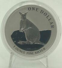 Australia 2012 Kangaroo 1$ Silver Dollar OZ ONZA