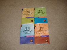 4 SC The One Year Seasonal Bible NLT Winter Devotions, Spring Devotions, Fall &.
