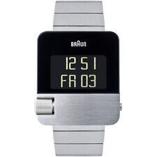 Braun BN0106SLBTG Mens Prestige Silver Tone Chronograph Watch RRP £450