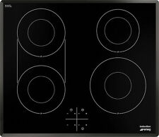 Smeg SI3642B 60cm 4 Zone Induction Hob with Angled Edge FA8523