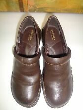 Womens Sonoma Leather Loafer Shoes, Brown Size 7M