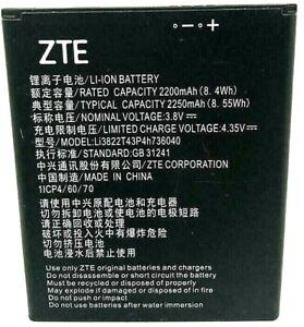 Original Internal Battery Fits ZTE TEMPO X Tempo Go N9137 li3822t43p4h736040 OEM