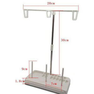 3 Spool Stand Holder Multifunction Embroidery Thread Quilting Rack Sew Home JG