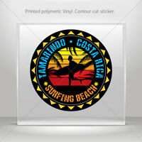 Decals Sticker Costa Rica Surf Souvenir Memorabilia Vehicle st5 ZK357