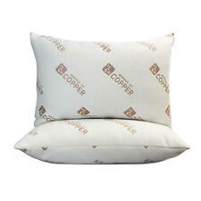 Essence of Copper Bed Pillows 2-pack.33 Recycled polyester fiber fill