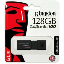 Clef usb 128go Kingston cle usb 128 go DataTraveler 100 G3 USB 3.1 / USB 3.0