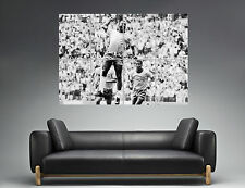 PELE Legend Football Classic Sport Wall Art Poster Great format A0 Wide