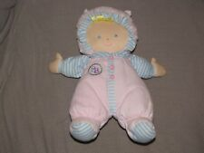 "Goldberger Sammy SB Pink Baby Doll Blue Eye Blonde Hair 11"" Plush Asthma Allergy"