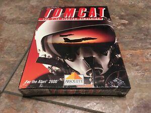 [BRAND NEW] Tomcat: The F-14 Fighter Simulator (Atari 2600 - 7800 1988) CIB