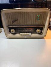Telefunken Jubilate vintage radio 1950s FUNCTIONAL made in Germany