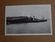 Postcard ships Paddle Steamer Grimsby ,New Holland Pier .unposted
