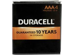 Duracell CopperTop Alkaline Batteries Technology AAA - 4per box