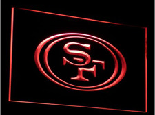 New NFL Football San Francisco 49ers LED Neon Signs Light Bar Man Cave 7 colors