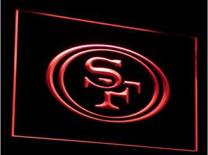 New NFL Football San Francisco 49ers LED Neon Signs Light Bar Man Cave 7 colors