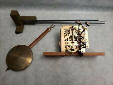Vintage Clock Movements Junghans -Wurttemberg W202 Germany W/ Chimes & Pendulum