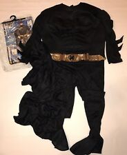 Rubies Deluxe Batman Dark Knight Halloween Costume Mens L 42-44 Muscle Chest