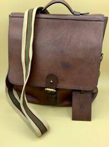 Polo Ralph Lauren Commuter Bag Messenger Bags - Brown