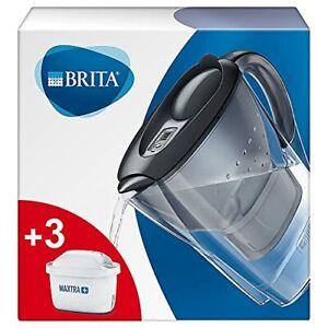BRITA Wasserfilter Marella GRAPHIT + 3 MAXTRA+ Filterkartuschen Starterpaket...