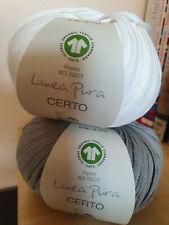 Lana Grossa Certo uni Linea Pura, verchiedene Farben zur Auswahl
