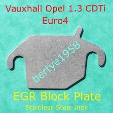 EGR blank plate Vauxhall Opel 1.3 CDTi Corsa Astra Meriva Combo Agila block Slot