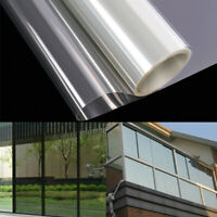 Clear Window Film Self-Adhesive Anti Shatter Sticker UV Protection Home Privacy