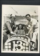 BING CROSBY + EDITH FELLOWS - 1936 NEAR MINT DOUBLEWEIGHT BY RAY JONES - VINTAGE
