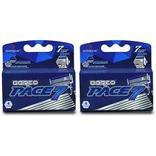 Dorco Pace 7 - Seven Blade Razor Shaver System Refill Cartridges