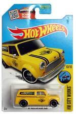 2016 Hot Wheels #175 HW City Works '67 Austin Mini Van yellow