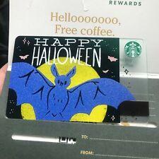 Starbucks TH card -Halloween card 2019