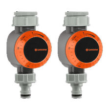 New listing Gardena Quick Connect Mechanical Garden Water Timer with Flow Control (2 Pack)