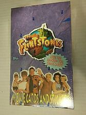 Topps The Flintstones Movie Trading Cards and Stickers Factory Sealed Box 1993